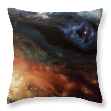 Alchemy Of Light Throw Pillow