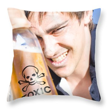 Throw Pillow featuring the photograph Yo Ho Ho And A Bottle Of Rum by Jorgo Photography - Wall Art Gallery