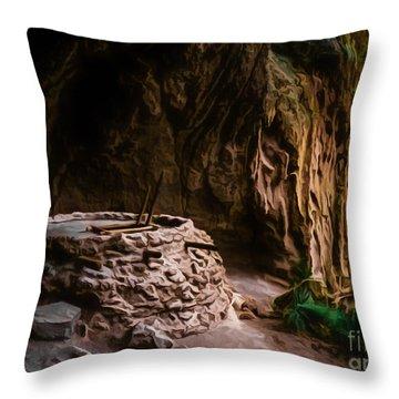 Alcove House Throw Pillow by Jon Burch Photography