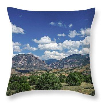 Aldo Leopold Wilderness, New Mexico Throw Pillow