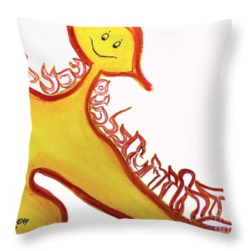 Aleph, At One Throw Pillow