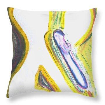 Aleph - Birth Throw Pillow
