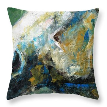 Alerted Throw Pillow