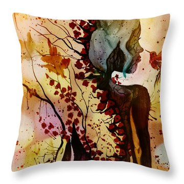 Alex In Wonderland Throw Pillow