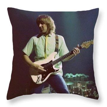 Alex Lifeson 2 Throw Pillow