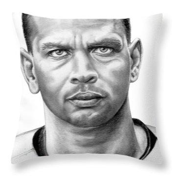 Alex Rodrigues Throw Pillow by Murphy Elliott