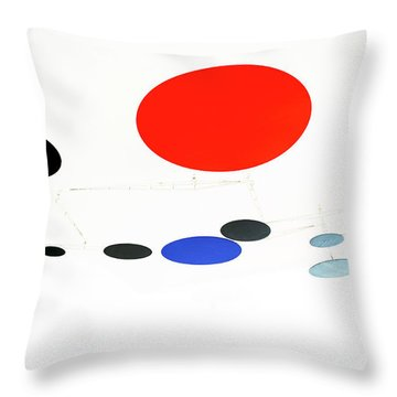 Alexander Calder Mobile 1 Throw Pillow