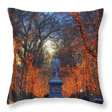 Alexander Hamilton On The Commonwealth Throw Pillow