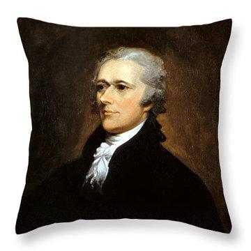 Alexander Hamilton Throw Pillow