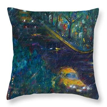 Alexandria Throw Pillow by Leela Payne