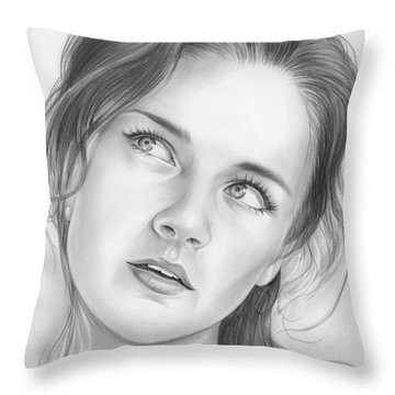 Alexis Bledel Throw Pillow