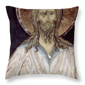 Alexis The Gods Man Throw Pillow by Granger