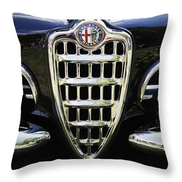 Alfa Romeo Throw Pillow by Dennis Hedberg