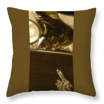 Alfa Romeo Front Grille Detail Phone Case Throw Pillow by John Colley