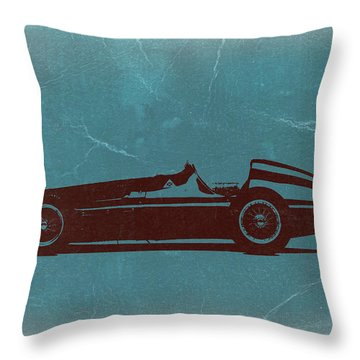 Alfa Romeo Tipo 159 Gp Throw Pillow