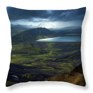 Iceland Throw Pillows