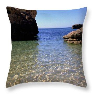 Algarve I Throw Pillow