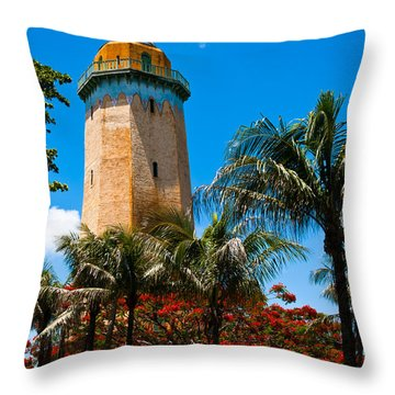 Alhambra Water Tower Throw Pillow