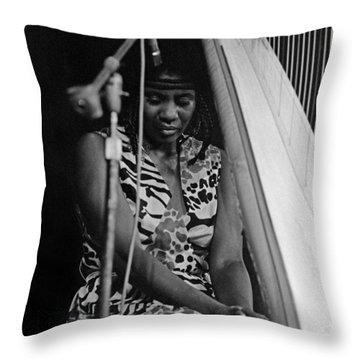 Alice Coltrane Throw Pillow