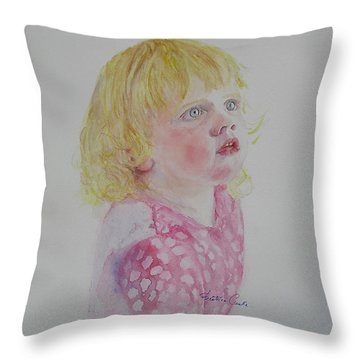 Alice Wondering Throw Pillow