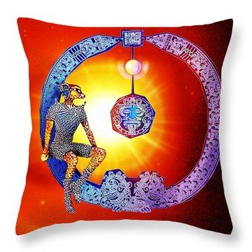 Alien  Dream Throw Pillow