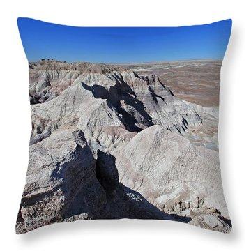 Alien Landscape Throw Pillow by Gary Kaylor