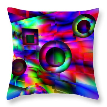 Alien Pinball Throw Pillow