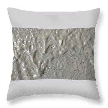 Alien Ram Charging From The Left Side Throw Pillow