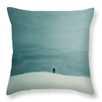 Alienation Throw Pillow