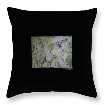 Aliens, Wild Horses, Sharks And Skeletons  Throw Pillow