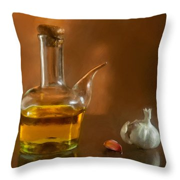 Alioli Throw Pillow