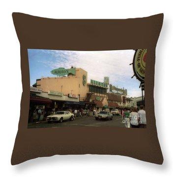 Alioto's Fisherman's Wharf Throw Pillow