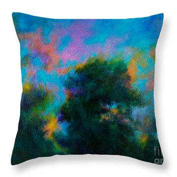 Alison's Dream Time  Throw Pillow