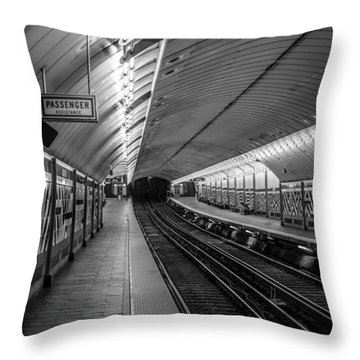 Throw Pillow featuring the photograph All Aboard by Jason Moynihan