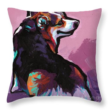 All About The Butt Throw Pillow
