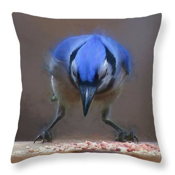 All About The Claws Throw Pillow