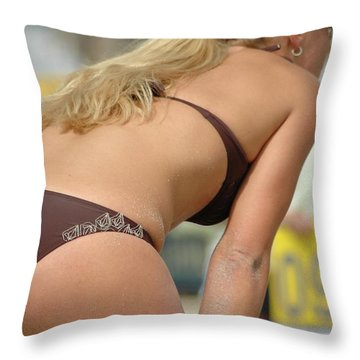 All About The Score Throw Pillow