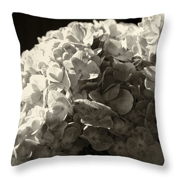 Throw Pillow featuring the photograph All Aflutter by Christi Kraft