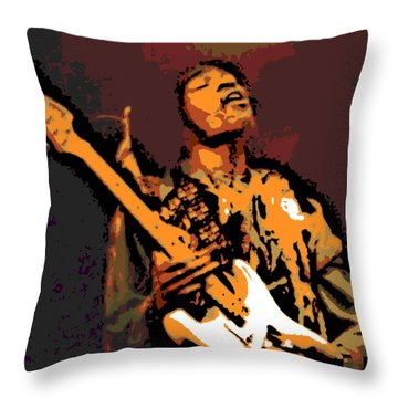 All Along The Watchtower Throw Pillow by George Pedro