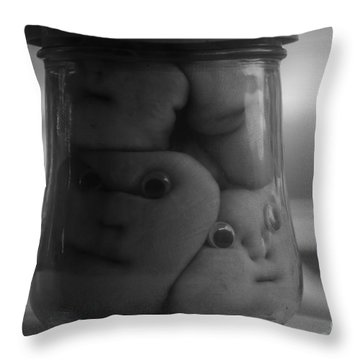 All Bottled Up Throw Pillow by David Lee Thompson