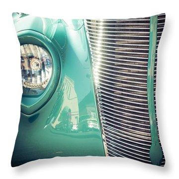 All Business Throw Pillow