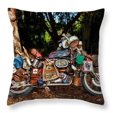 All But The Kitchen Sink Throw Pillow