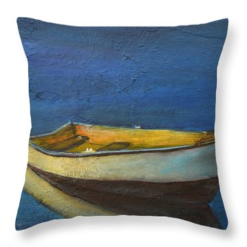 All By Myself Throw Pillow by Gary Smith