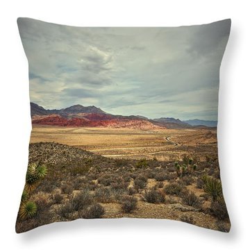 Throw Pillow featuring the photograph All Day by Mark Ross