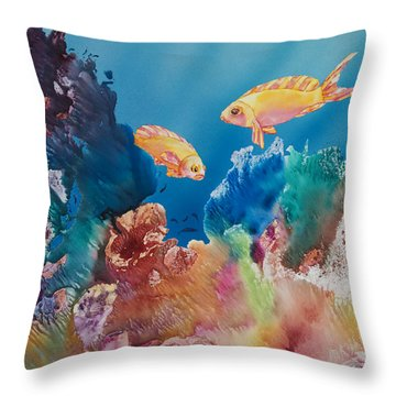 All Dressed Up Throw Pillow by Tanya L Haynes - Printscapes