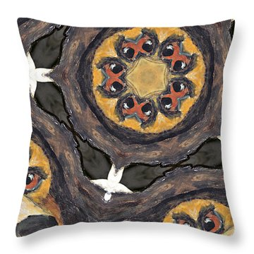 All Eyes On You Throw Pillow by Peter J Sucy