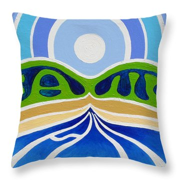 All Family Throw Pillow by Jaison Cianelli