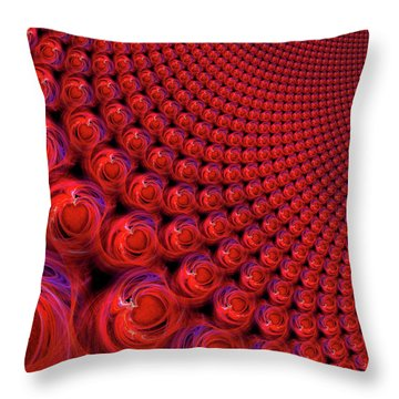 All Hearts Beat As One Throw Pillow by Michael Durst
