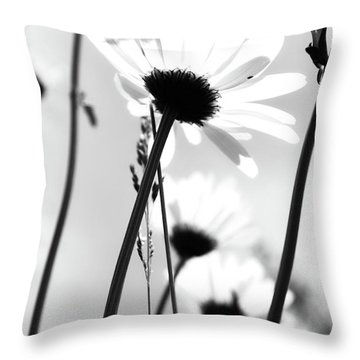 All Her Lips  Throw Pillow