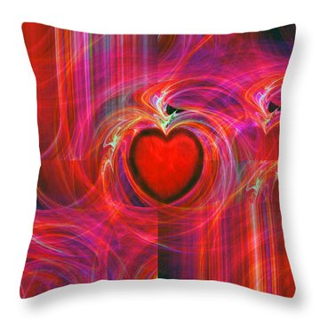 All I Have To Give You Throw Pillow by Michael Durst